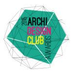 Logo Archi Design Club Awards 2015, récompense obtenu pour le projet de logements collectifs à Bourg-la-Reine